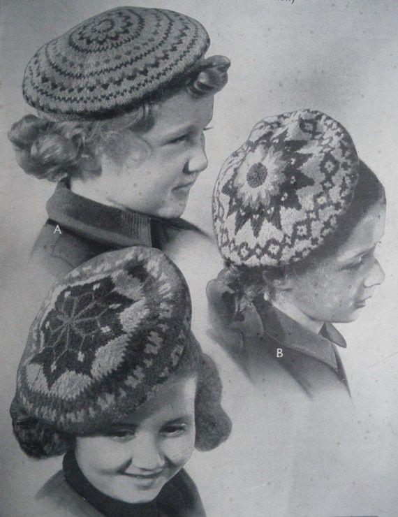 Image result for 1940s children | Vintage knitting ...