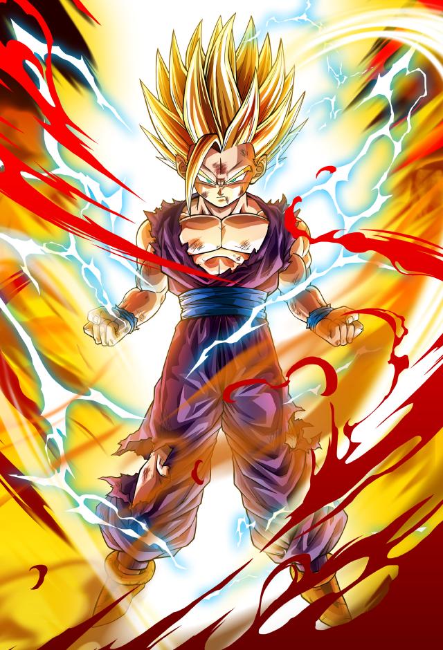 Goku SSJ3 Dragon Fist card [Bucchigiri Match] by Maxiuchiha22 on DeviantArt