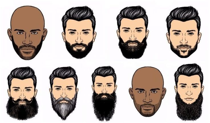 The Shape Of Your Face For Your Beard Style Types Of Beard