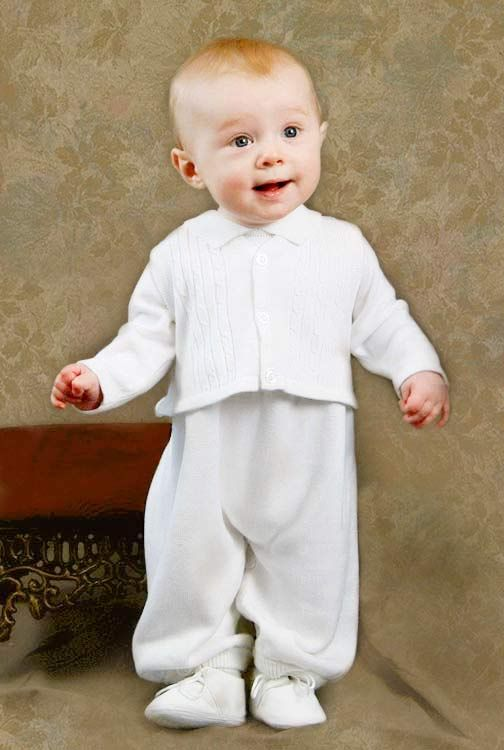 47974ee7d Jeffrey Christening Knit Outfit | Baby Boy | Christening outfit ...