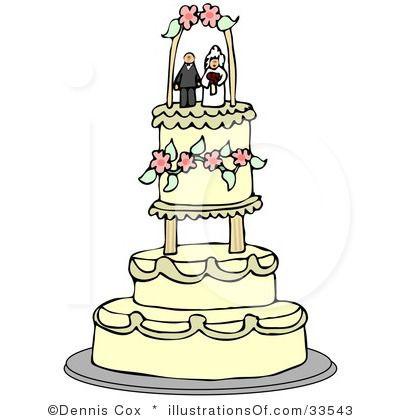 wedding cake clipart 33543 by dennis cox royalty free rf