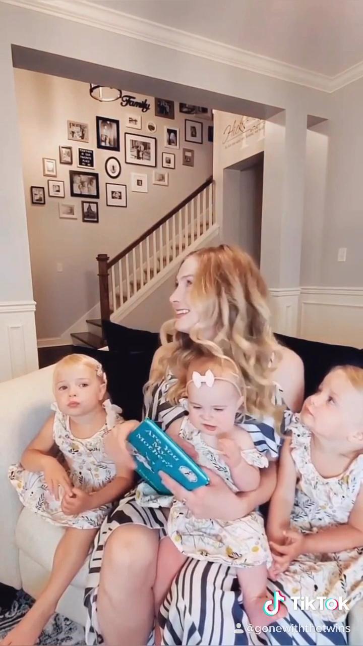 Twin Mom Don T Rush Challenge Video In 2020 Newborn Twins Photography Twin Mom Nursery Twins