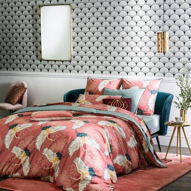 collection ah 2017 2018 catalogue la redoute int rieurs chambre coucher lit parure imprim e. Black Bedroom Furniture Sets. Home Design Ideas