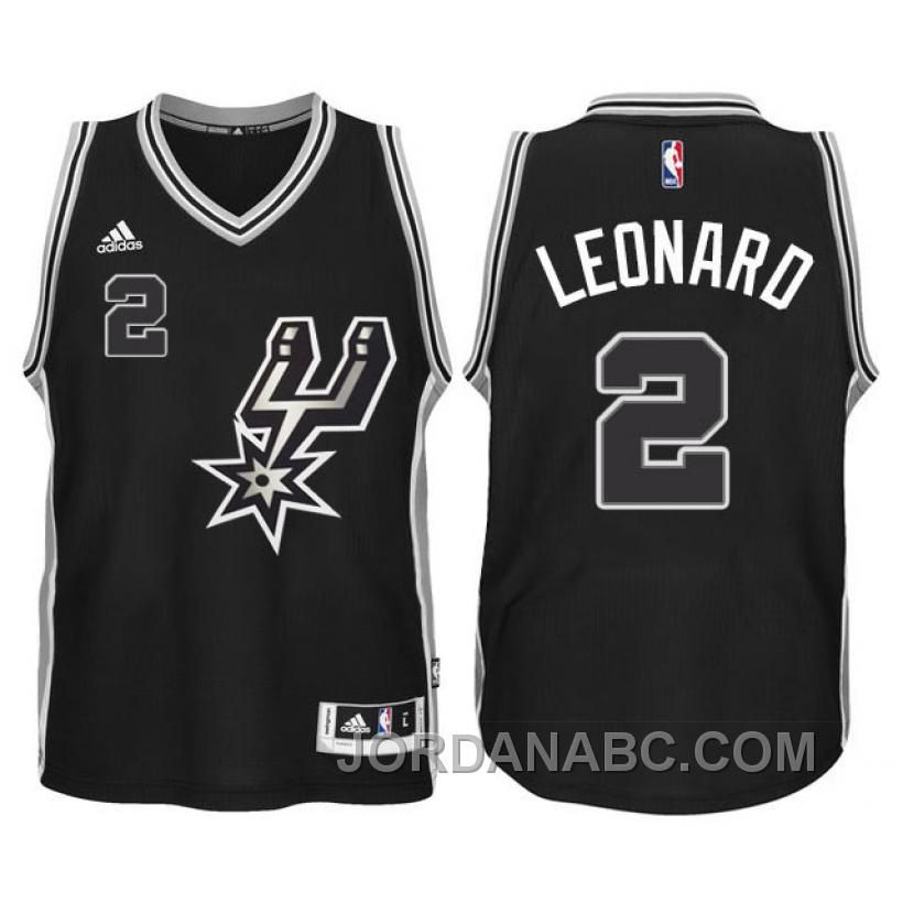 San Antonio Spurs  2 Kawhi Leonard 2015-16 New Swingman Black Signature  Spur Youth Jersey d331d92d0