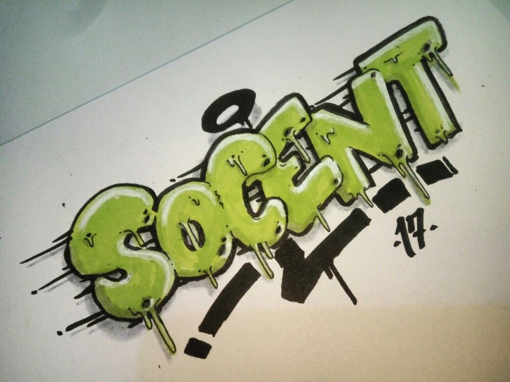 Graffiti Sketch On Paper By Socent Visit The Instagram Socentism