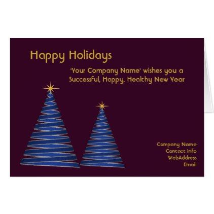 corporate christmas card company business custom christmas cards merry xmas family party holidays cyo diy - Custom Christmas Cards For Business