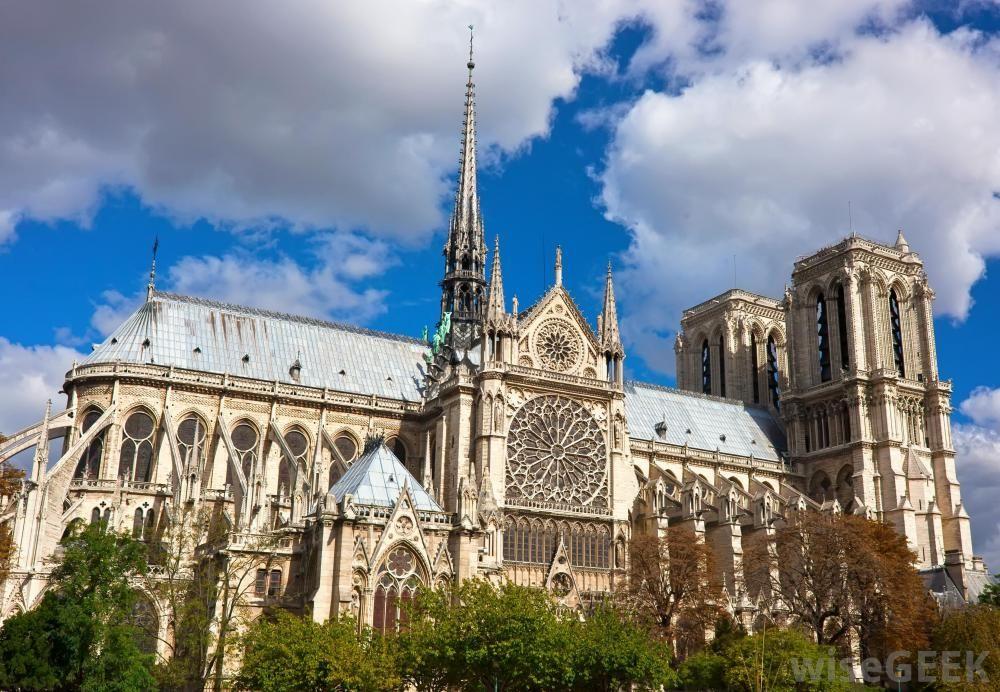 Notre Dame De Paris North View