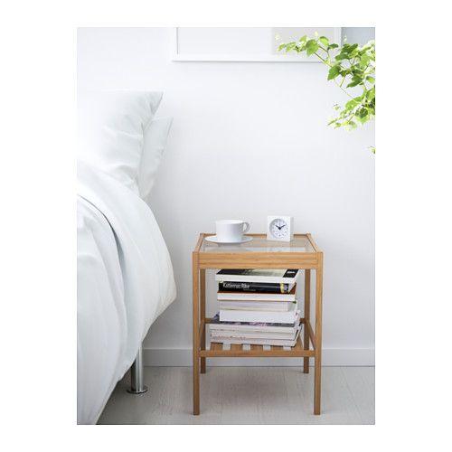 nesna ablagetisch ikea nice pinterest nachttische wohnung m bel und schlafzimmer ideen. Black Bedroom Furniture Sets. Home Design Ideas