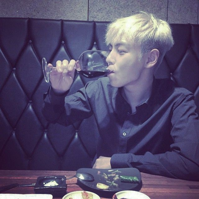 Instagram Photo By T O P Aug 2 2015 At 7 55am Utc Bigbang Top Drinks Top Bigbang