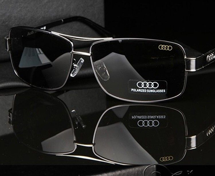 nueva colección 0cb47 6b36b nice AD553 Authentic luxury brand Audi Men Polarized ...
