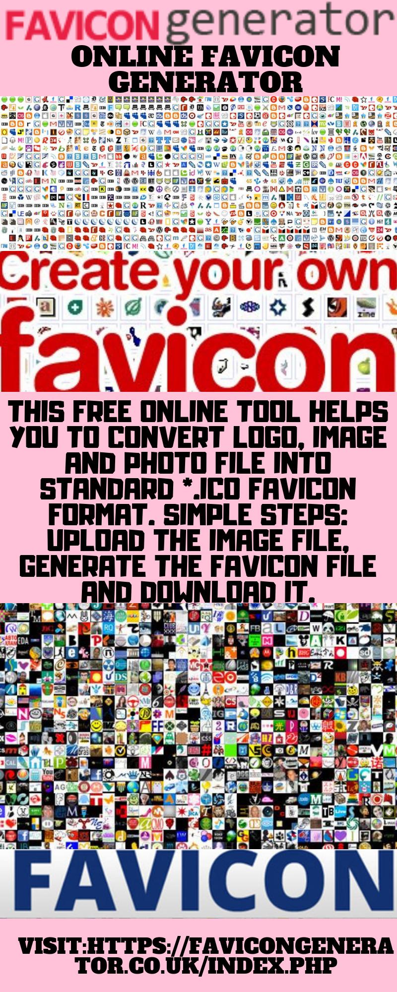 Online Favicon Generator Generation Online Ico
