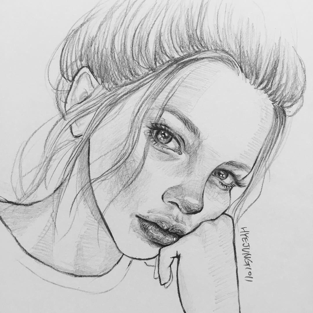 Тебя, рисунок с людьми карандашом