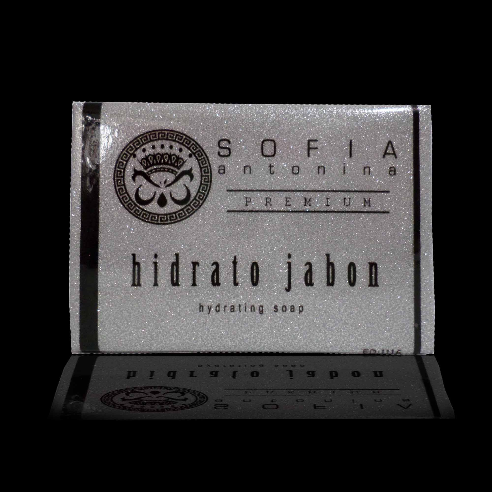 Hidrato Jabon, is our hydrating soap that refreshes and rejuvinates the skin and to rehydrate your skin's glow