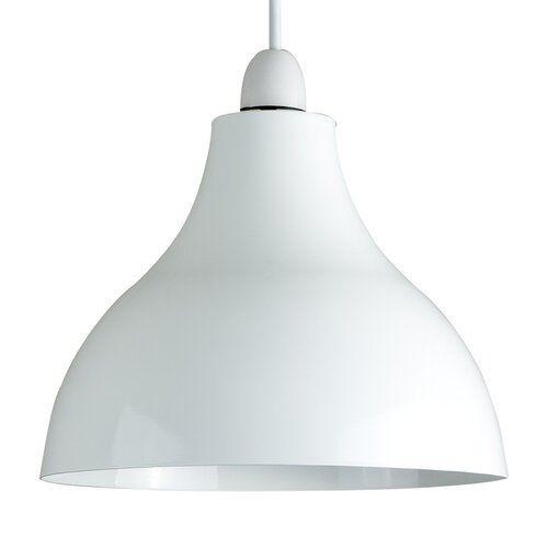 Wayfair Basics 24cm Metal Bell Pendant Shade Ceiling Pendant Ceiling Light Shades Metal Ceiling