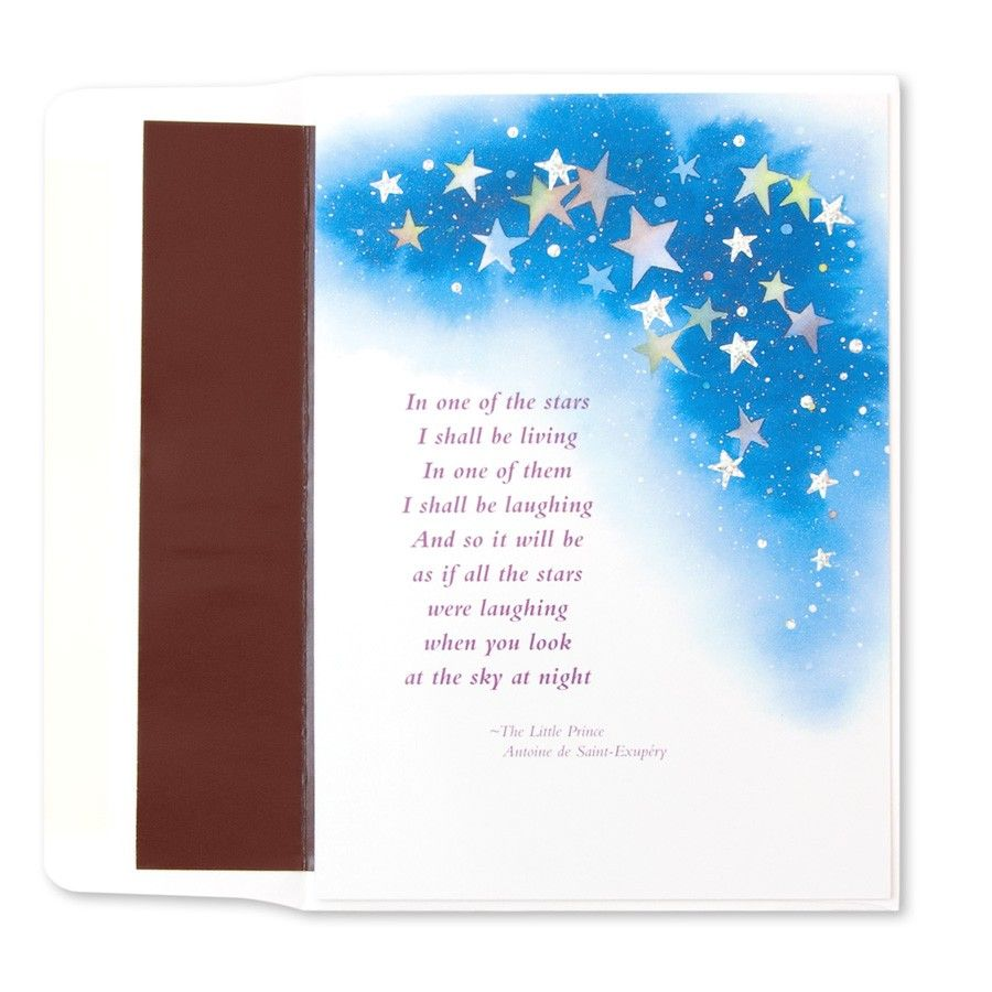"""The Little Prince Quotes Inspirational Sayings: """"In The Stars"""" Little Prince Quote Price $3.95"""