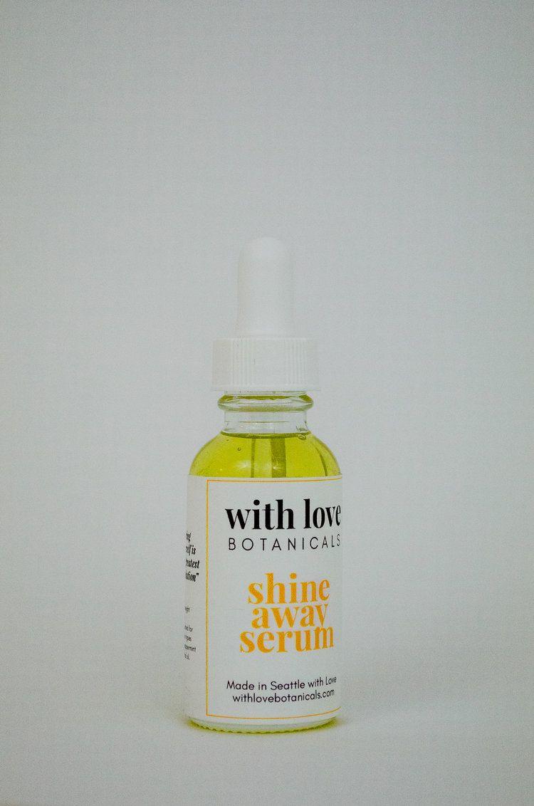 Shine Away Serum Serum Skin Care Hand Soap Bottle