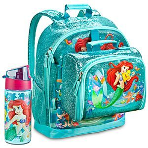 6497a0c25b9 Disney Ariel Backpack   Lunch Tote Collection