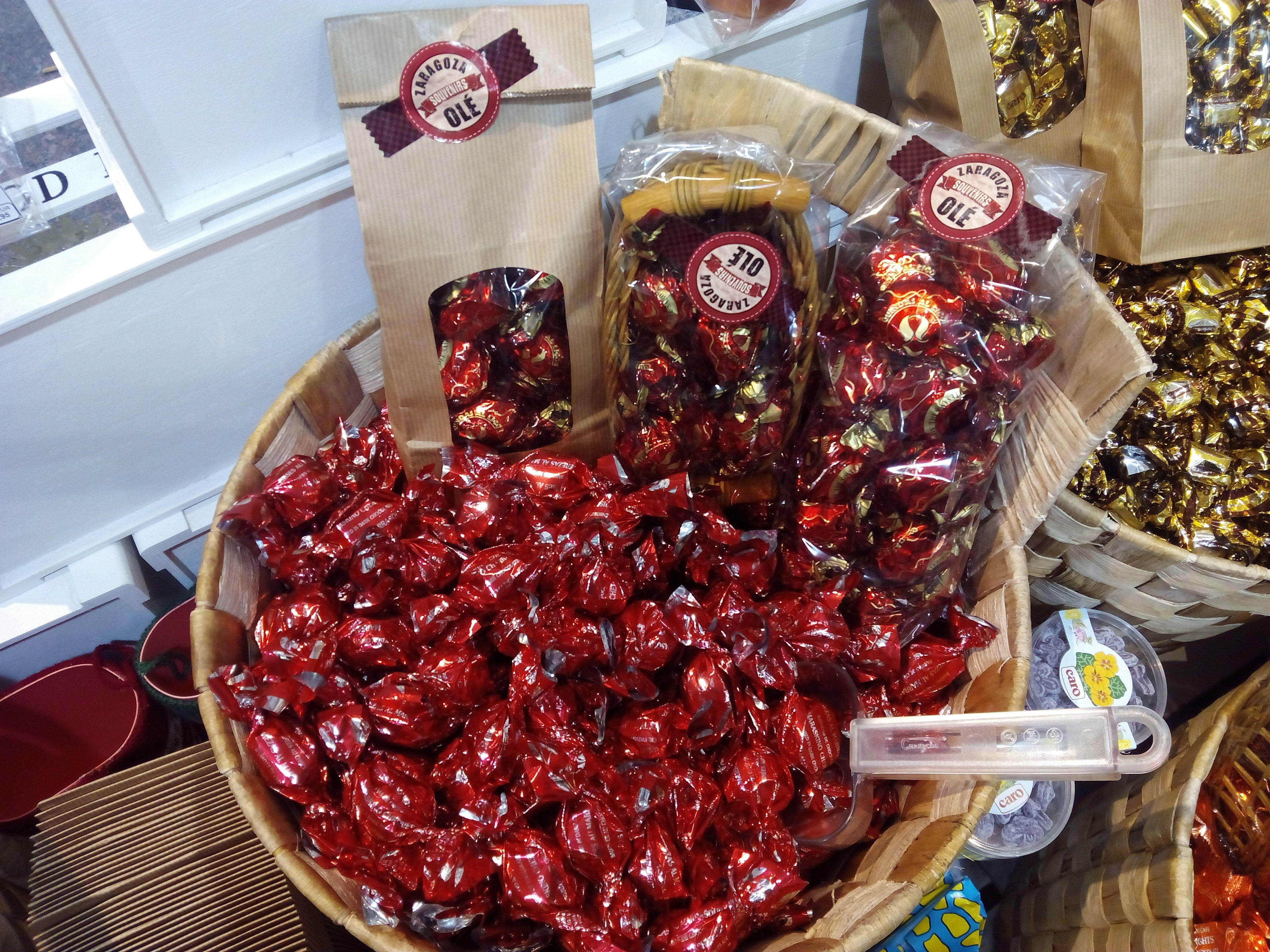 Cerezas Al Marrasquino Guindas Con Chocolate Frutas De Aragon