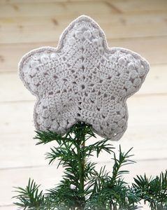Christmas Tree Topper Crochet Patterns Christmas Tree Topper Pattern Crochet Xmas Christmas Crochet