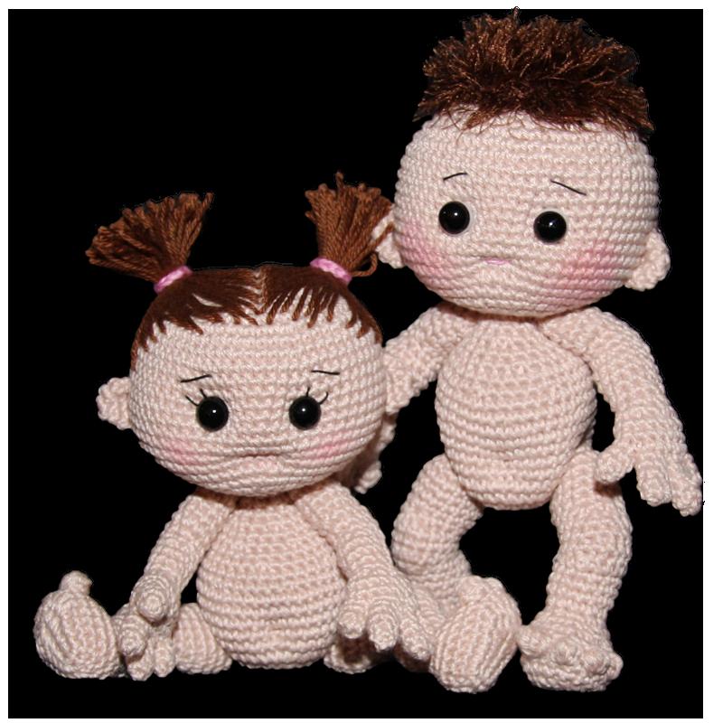 Crochet Doll Poupee Popje Baby Grundanleitung Kostenlose