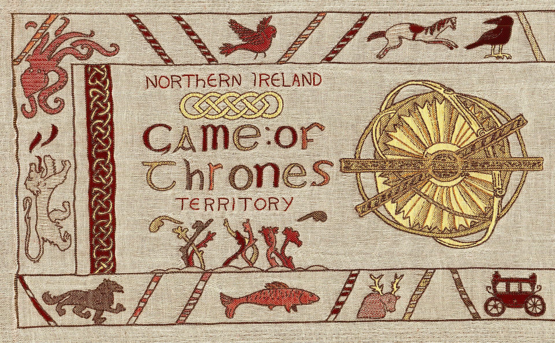 アイルランド観光局、全長66mのタペストリーで『ゲーム・オブ・スローンズ』のあらすじを再現 | AdGang