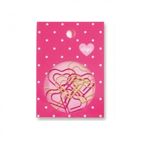 Hearts Paper Clips Set (◕ᴥ◕) Kawaii Panda - Making Life Cuter