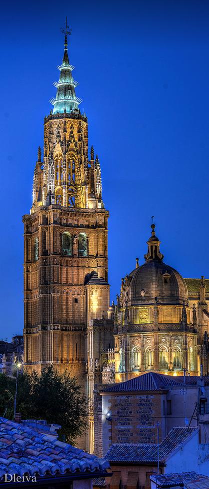 Torre de la catedral de toledo lugares spain places for Ciudades mas turisticas de espana