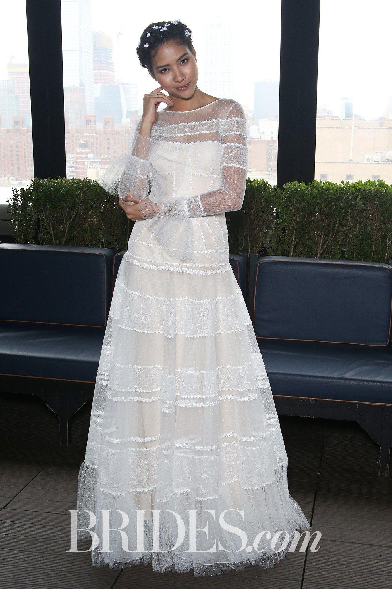 Royal blue lace wedding dress october 2018 Gemy Maalouf Bridal u Wedding Dress Collection Spring   Brides