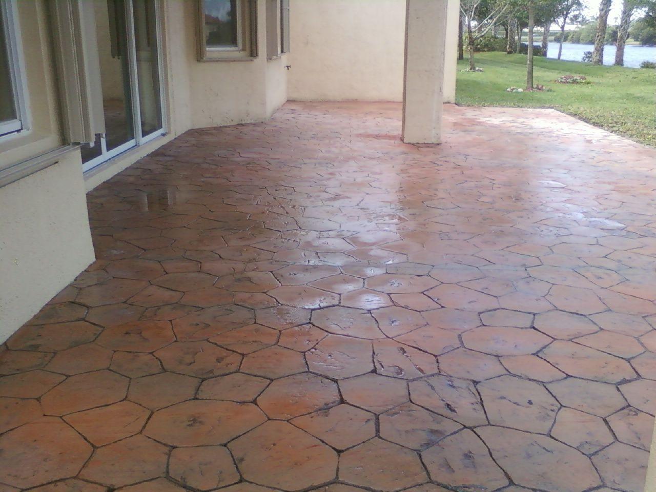 outdoor patio tiles over concrete floor best flooring over