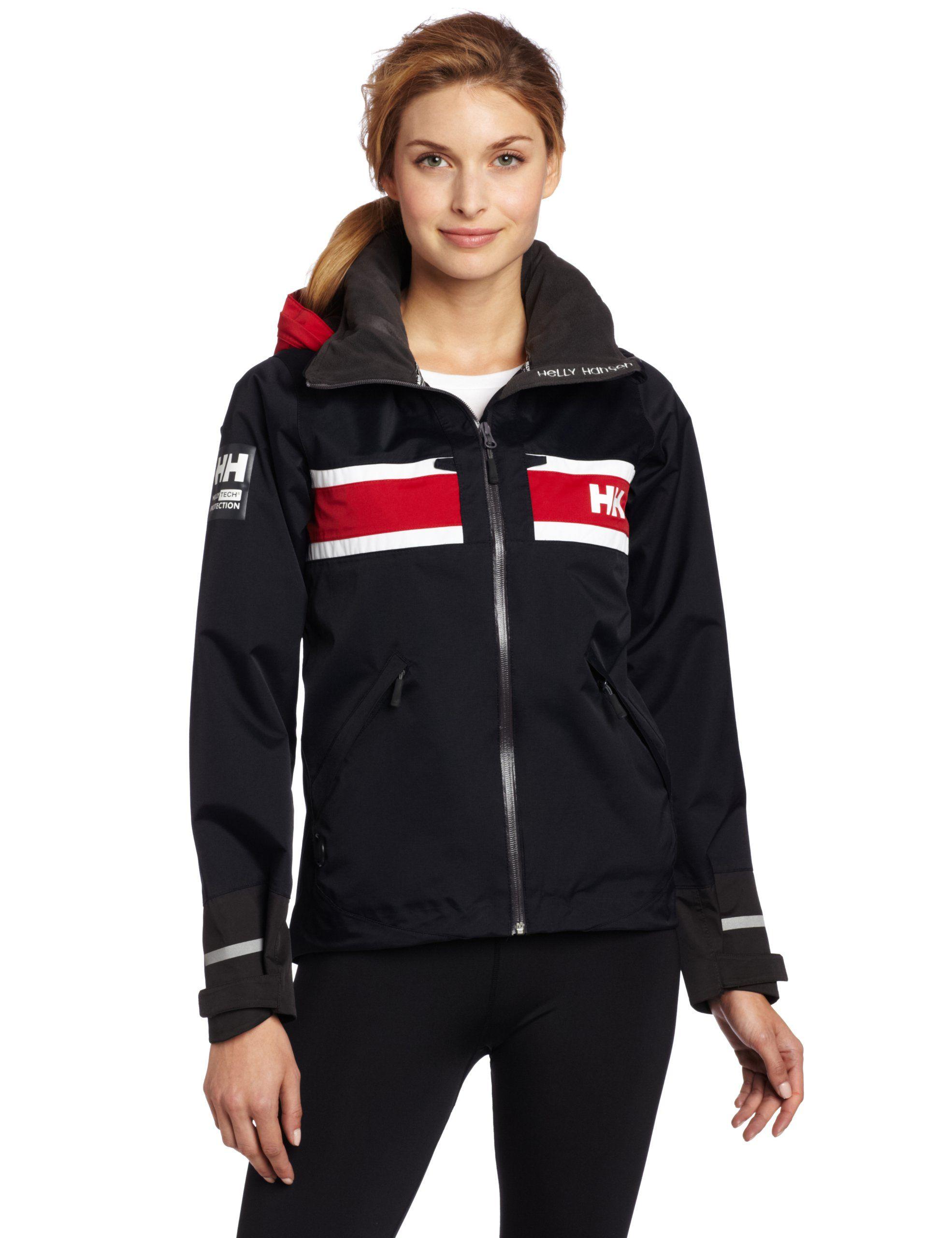 luonteen kengät varoa aito laatu Amazon.com: Helly Hansen Women's Salt Jacket: Sports ...