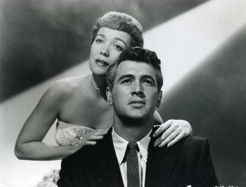 Rock Hudson Jane Wyman Together In Magnificent Obsession Rock Hudson Classic Hollywood Classic Movie Stars