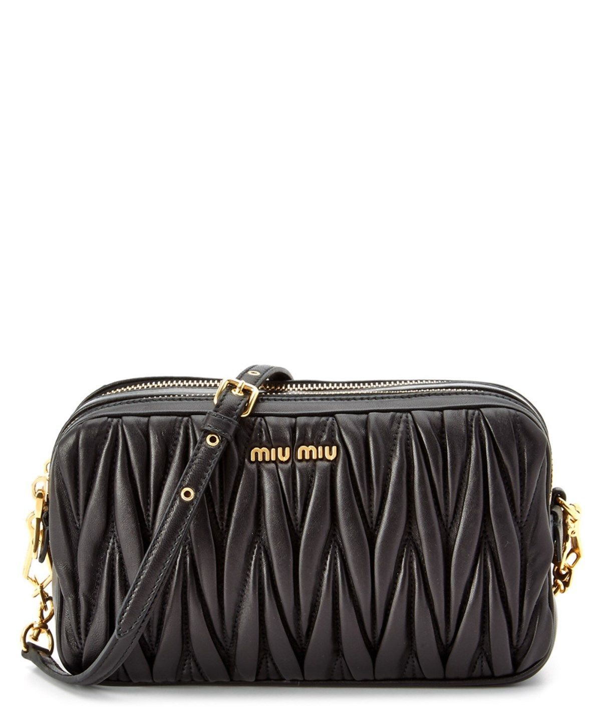 MIU MIU Miu Miu Matelasse Napa Leather Mini Bag .  miumiu  bags  shoulder  bags  leather  accessories  cardholder  lining    miumiubag 9644e11eea