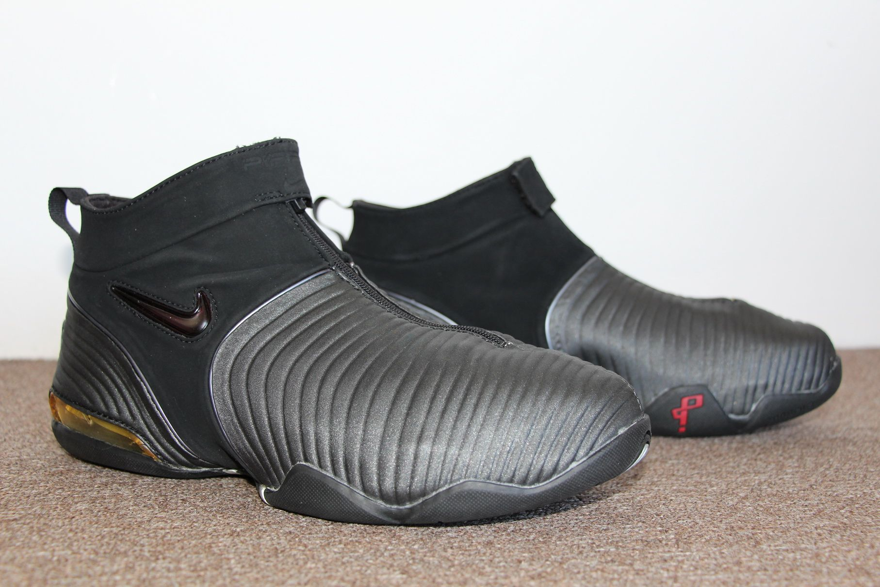 Nike Air Pippen V 2001 (Black/White/Grey)