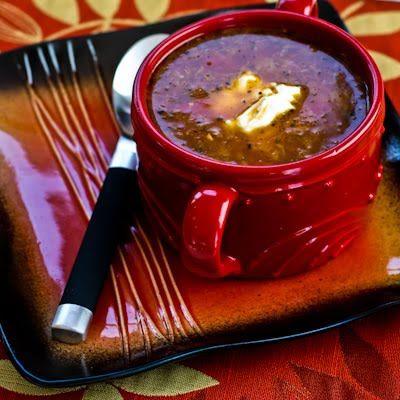 Beef and sauerkraut soup