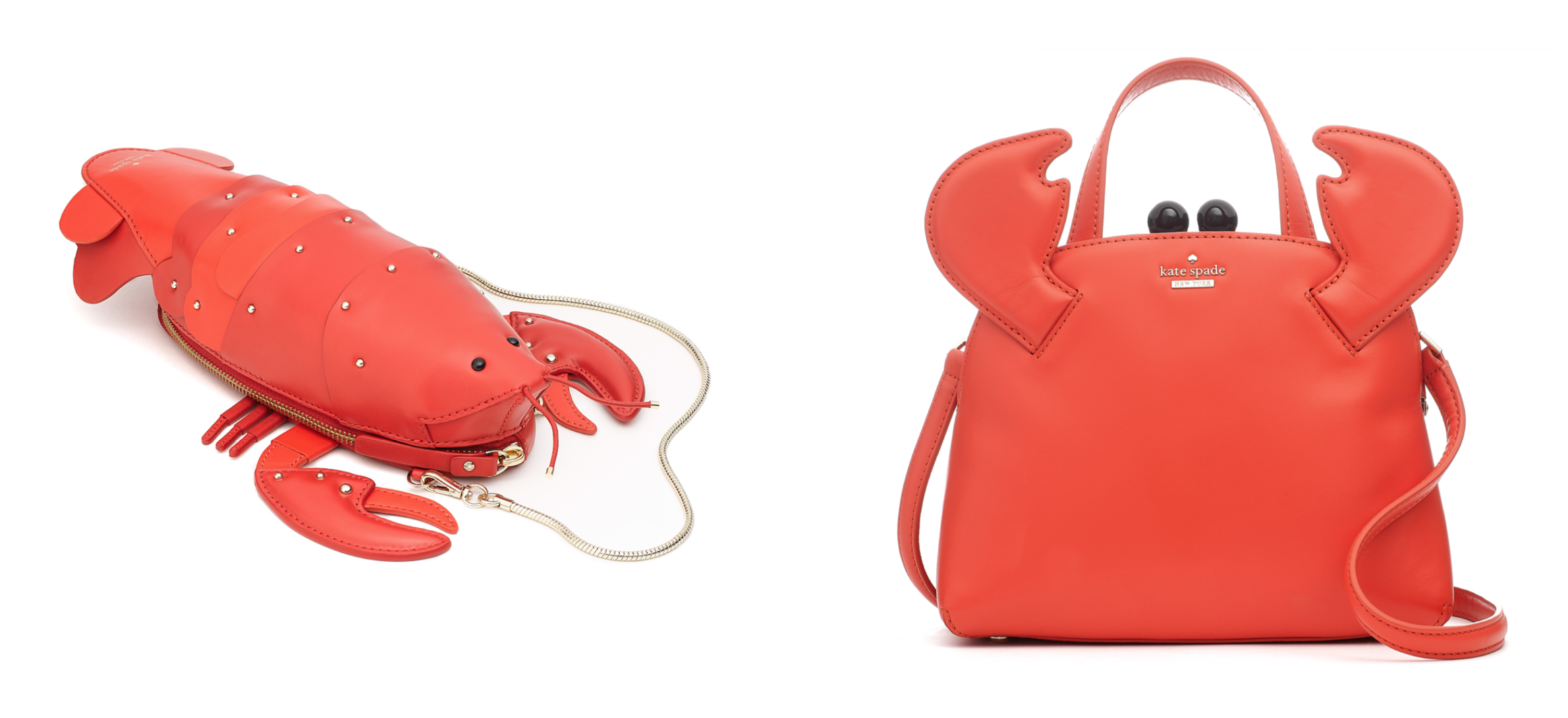 Lobster Crossbody And Crab Bag