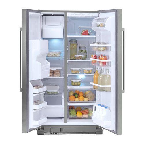Nutid S25 Side By Side Refrigerator Ikea 5 Year Limited