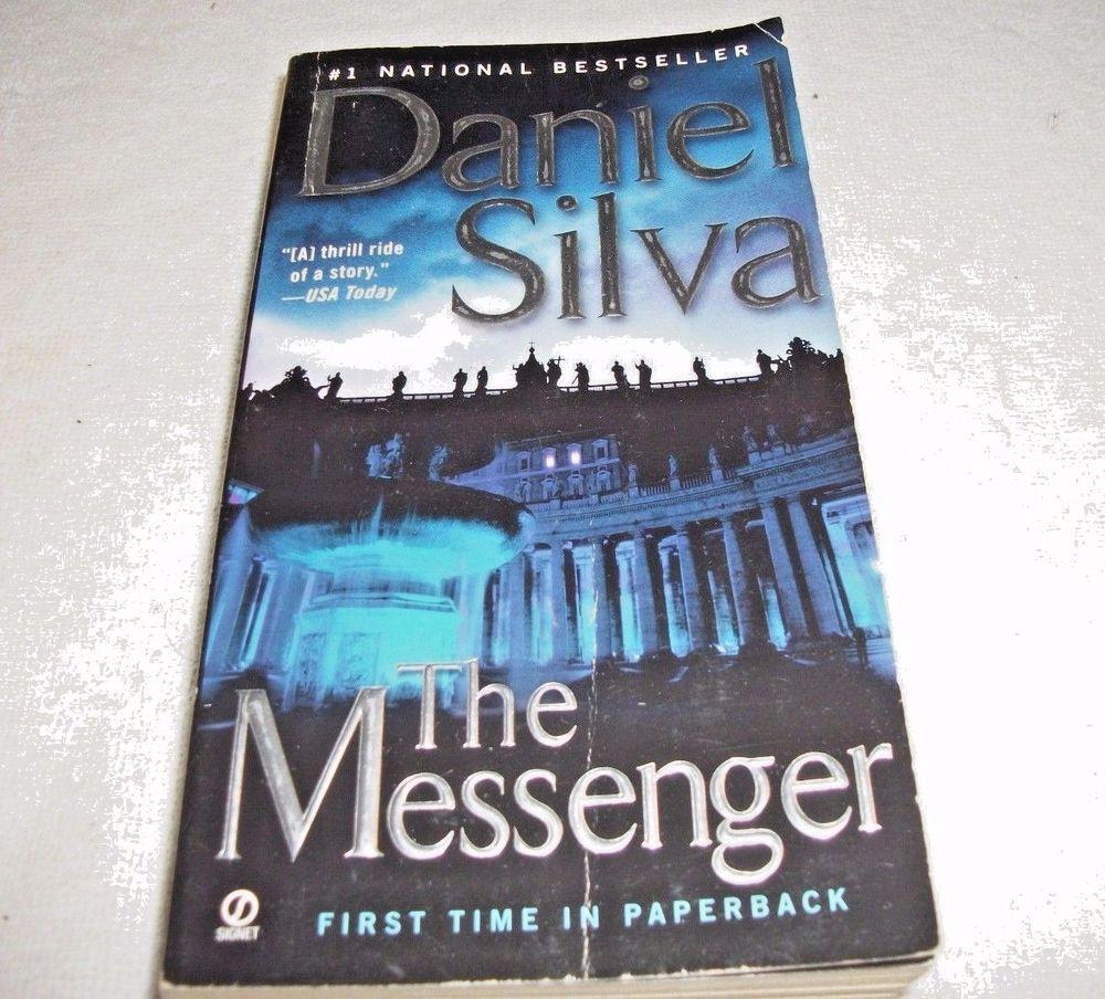 Gabriel Allon The Messenger by Daniel Silva (2007
