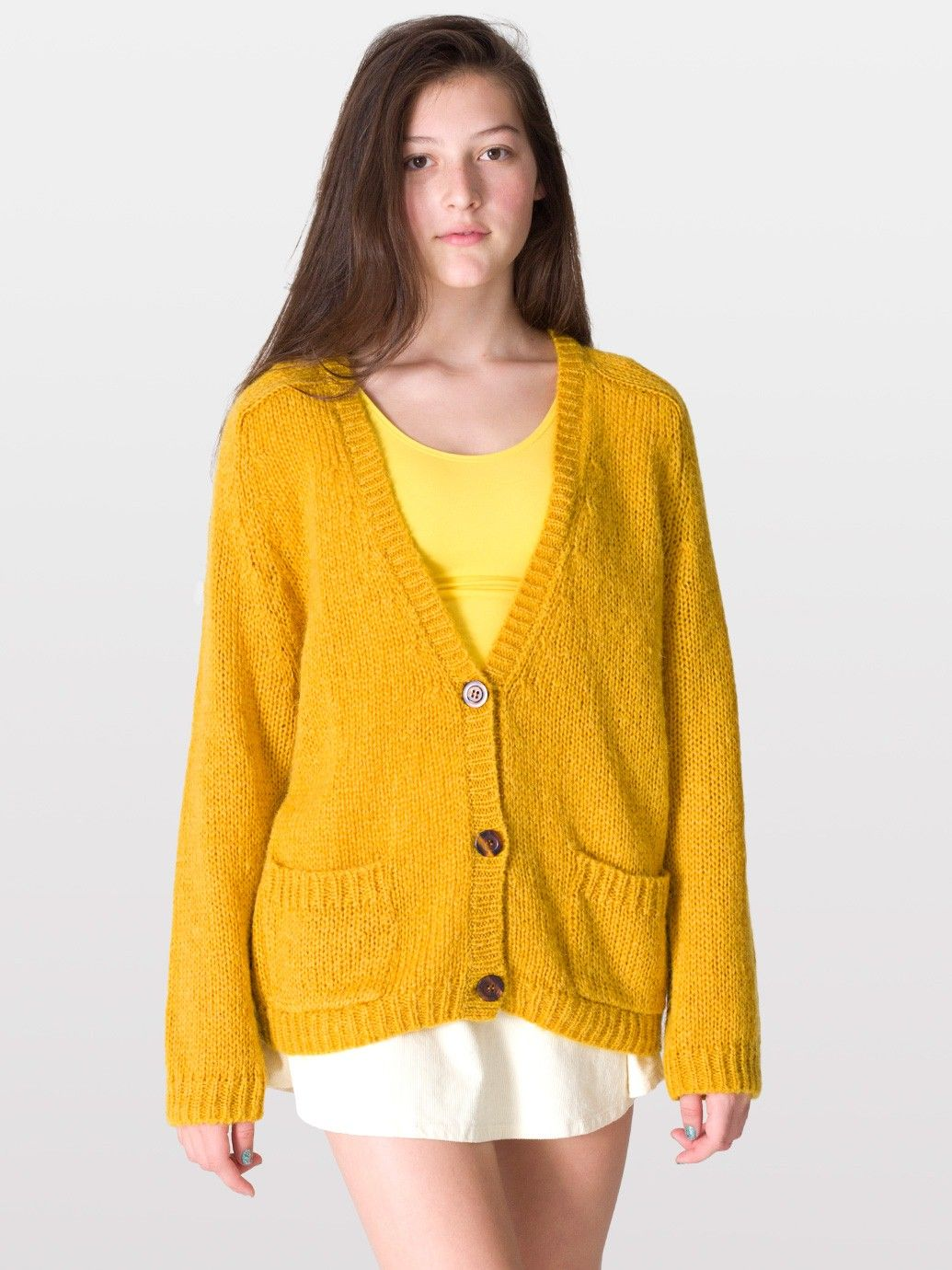 American Apparel - Mohair Loose Cardigan | Fashion Inspiration ...