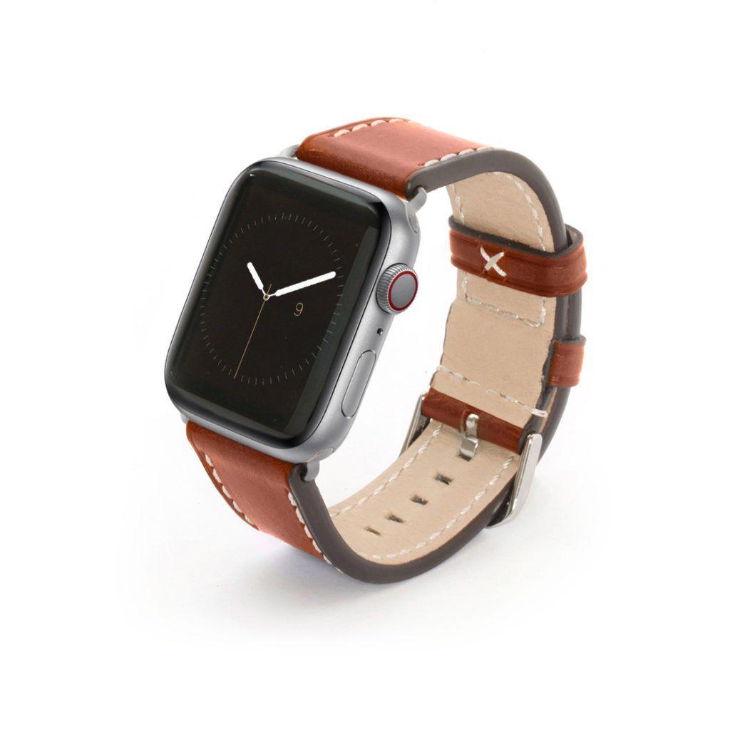 Leder Hellbraun Armband Fur Die Apple Watch Apfeluhr Apple Watch Armband Leder Armband Leder