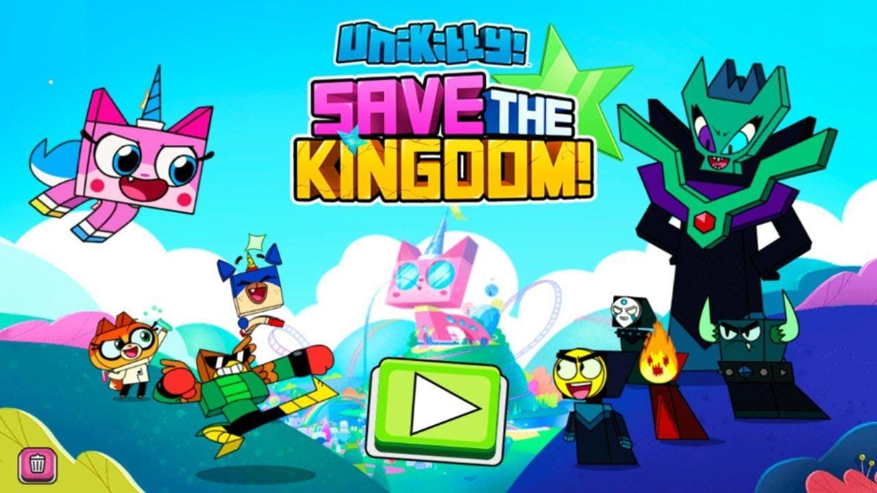 Unikitty Game Save The Kingdom Cartoon Network Games