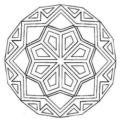 mandala Coloring Pinterest Mandalas, Colorear y Cuadernos de