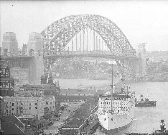 Sydney Harbour Bridge Australia 1930s Australian By Eclecticforest Sydney Harbour Bridge Australia City Photography