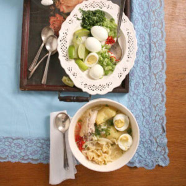 Peruvian Chicken Soup Recipe   SAVEUR