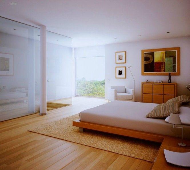 Bedroom Carpet And Wood Flooring In Same Room Bedroomideas In 2020 Bedroom Wooden Floor Wood Floor Design Bedroom Flooring