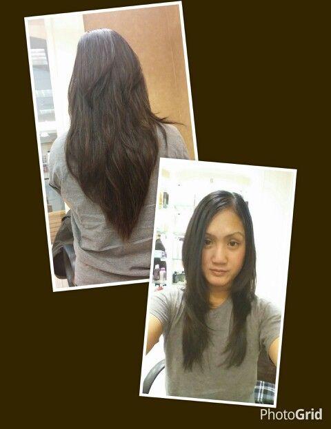V layered face framing long layered hair =) #mastercuts