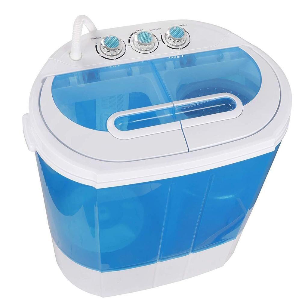SUPER DEAL Portable Washing Machine Twin Tub 10lbs