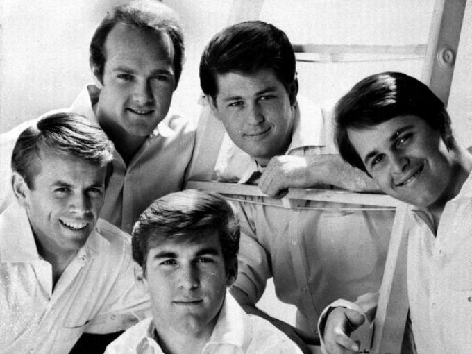 Beach Boys From Top Left Clockwise Mike Love Brian Wilson Carl Dennis Al Jardine