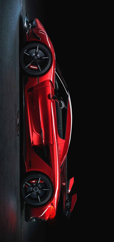 2020 Koenigsegg Jesko In Cherry Red Image Enhancements By Keely Vonmonski Koenigsegg Cool Sports Cars Super Cars