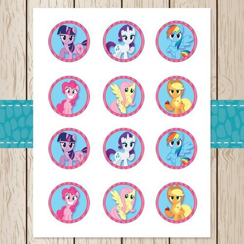 Gallery For gt My Little Pony Cupcake