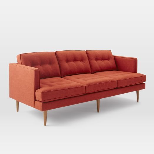 Terrific Peggy Mid Century Sofa West Elm Tons Of Color Options Ocoug Best Dining Table And Chair Ideas Images Ocougorg